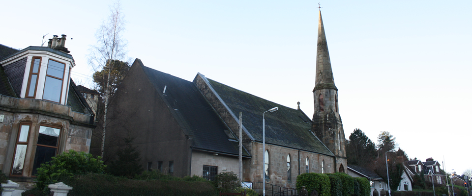 Exterior of the church